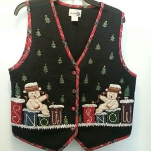 Christmas vest.